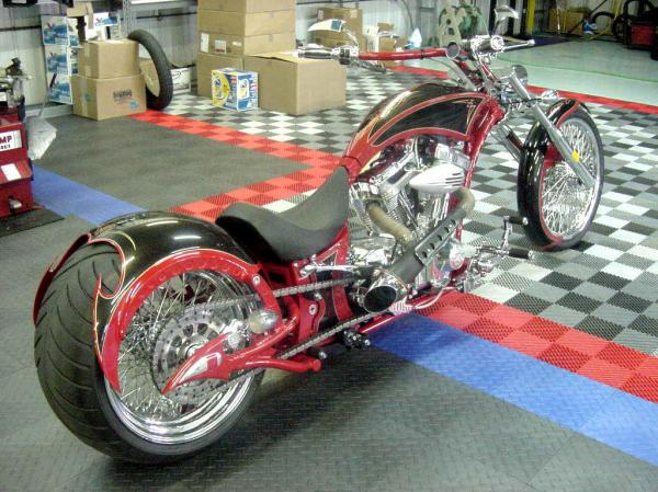 Big Bear Choppers Athena ProStreet 114 X-Wedge EFI