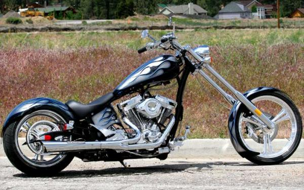 Big Bear Choppers Merc Rigid 100 Smooth Carb