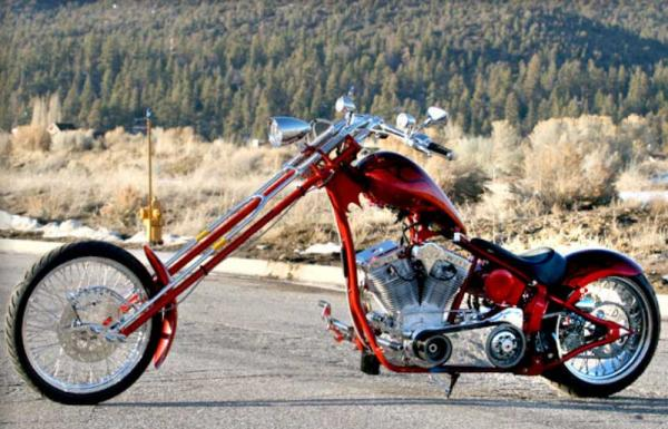 Big Bear Choppers Merc Softail 100 Carb