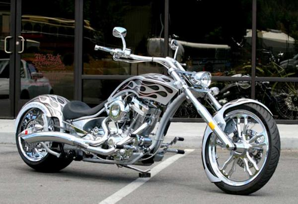 2009 Big Bear Choppers Merc Softail 100 Carb