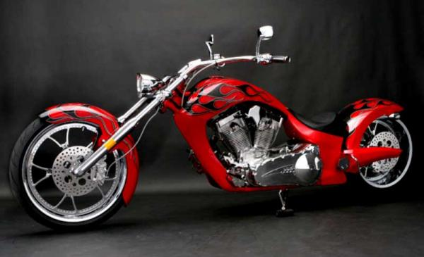 2010 Big Bear Choppers Paradox 114 X-Wedge EFI