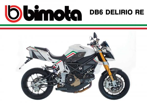 2012 Bimota DB6 Delirio RE