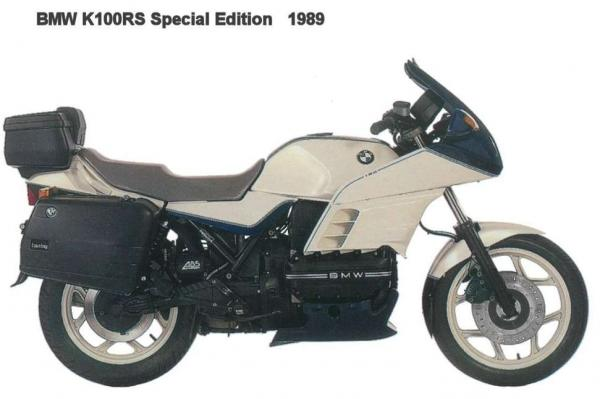 1986 BMW K100RS Motorsport