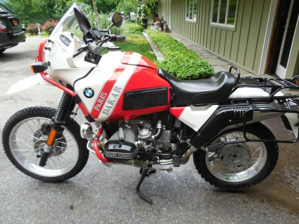 1989 BMW R100GS Paris-Dakar