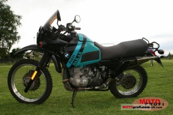1992 BMW R100GS Paris-Dakar