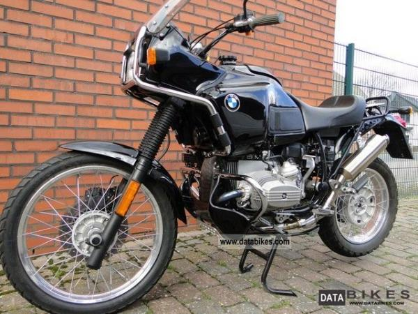 1996 BMW R100GS PD Classic