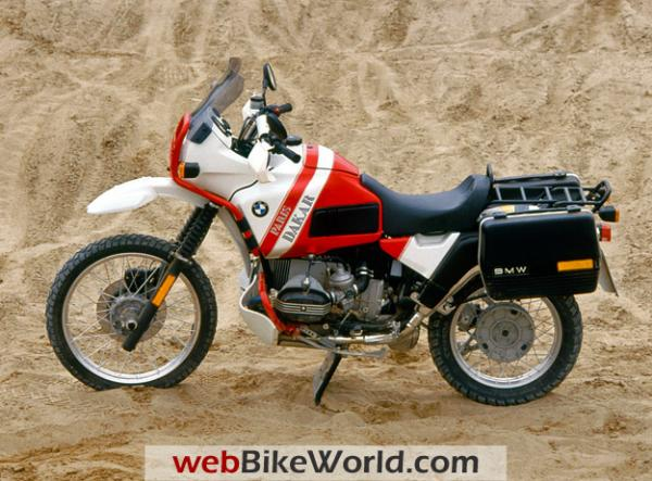1991 BMW R80 (reduced effect)