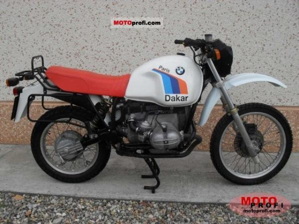 1985 BMW R80G/S Paris-Dakar