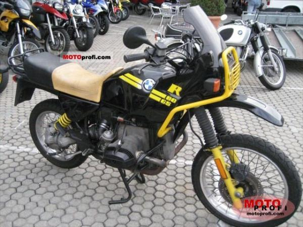 1991 BMW R80RT (reduced effect)