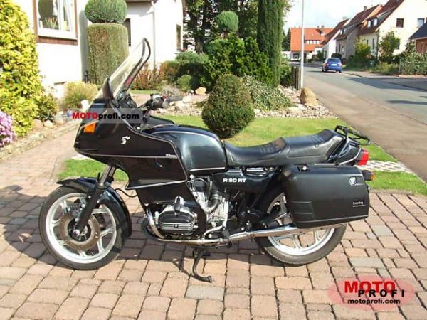 1992 BMW R80RT (reduced effect)
