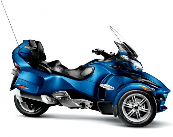 Can-Am Spyder RT Audio