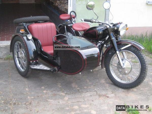 1992 Chang-Jiang 750 J-1 (with sidecar)