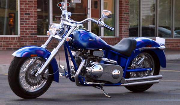 Convenience and Power means Ridley Auto-Glide Chopper