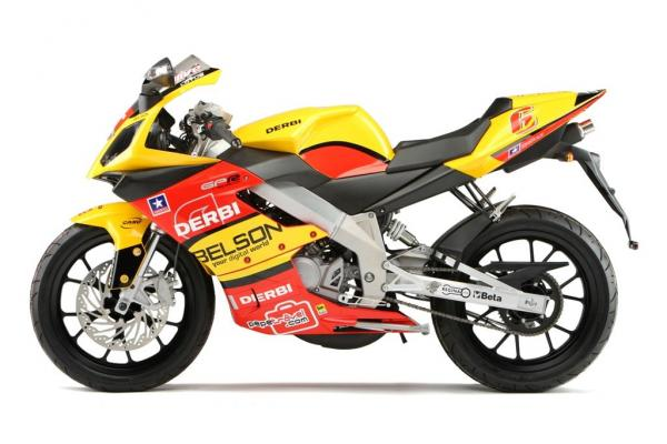Derbi GPR Racing 50 Race Replica 2008 #1