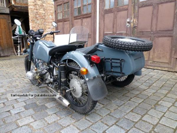 1985 Dnepr MT 10 (with sidecar)