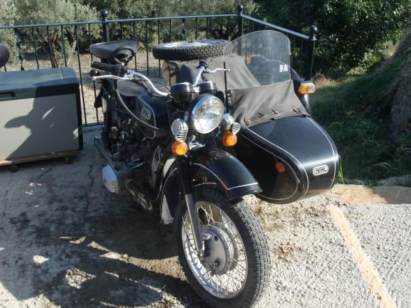 1990 Dnepr MT 11 (with sidecar)