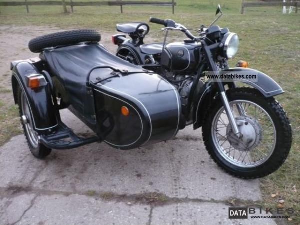 1991 Dnepr MT 11 (with sidecar)