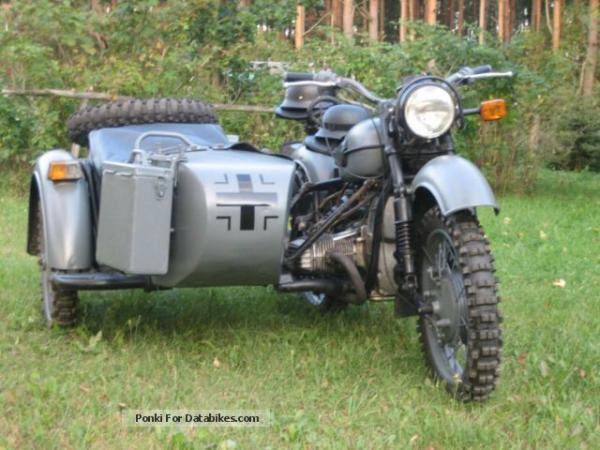 Dnepr MT 12 (with sidecar) 1983 #1