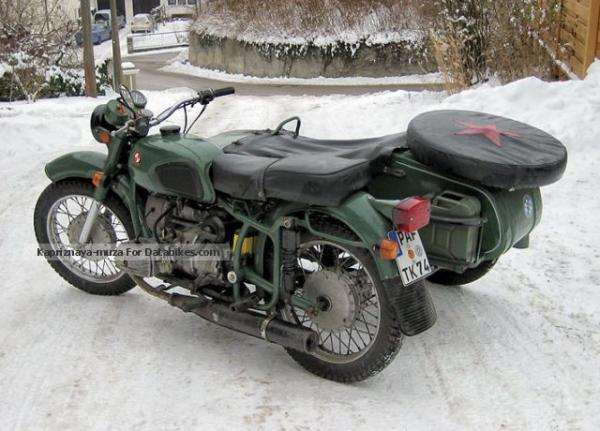 Dnepr MT 16 (with sidecar) 1987 #1