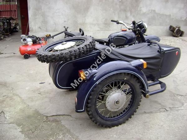 1991 Dnepr MT 16 (with sidecar)