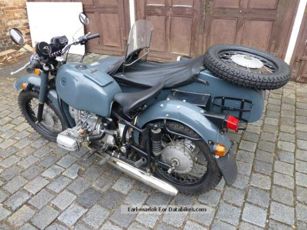 1992 Dnepr MT 16 (with sidecar)