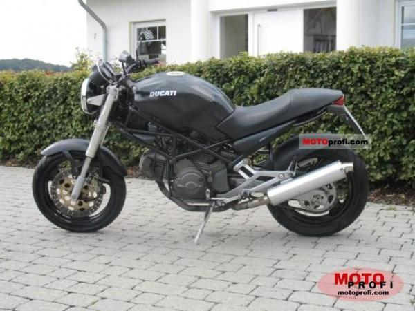 Ducati 600 Monster Dark 1998 #1