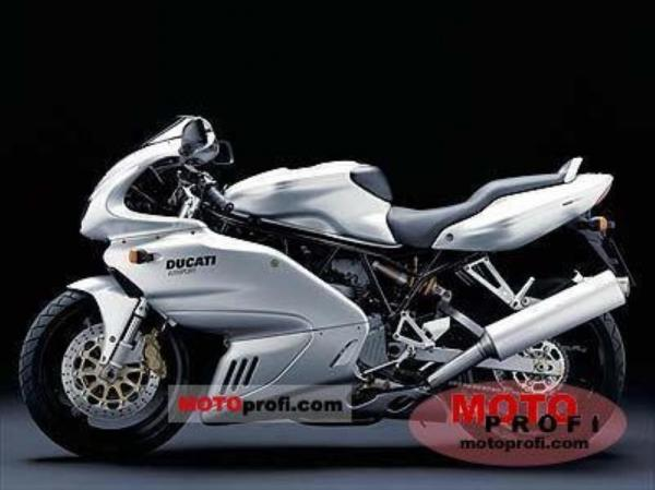 Ducati 620 Sport Full-fairing (reduced effect) #1