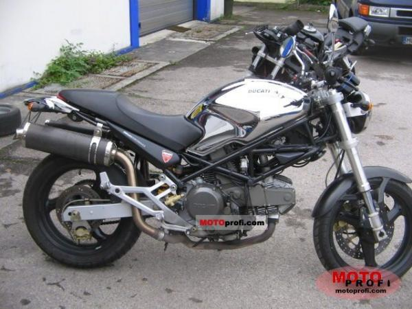 2000 Ducati Monster 600/Monster 600 Dark/Monster 600 City/Monster 600 Metallic
