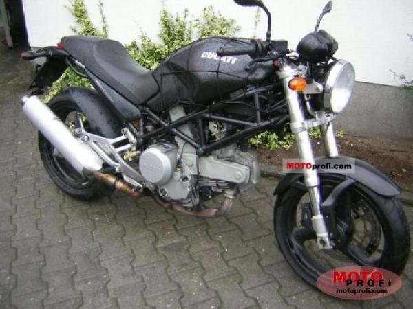 2004 Ducati Monster 620 i.e. Dark Single Disc