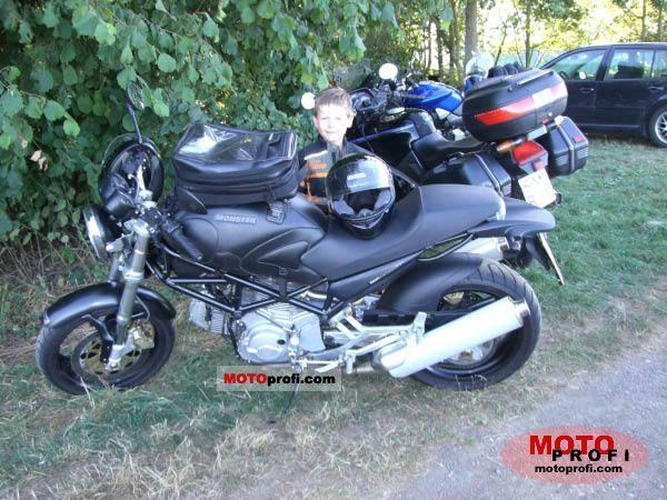 Ducati Monster 620 i.e. Dark Single Disc