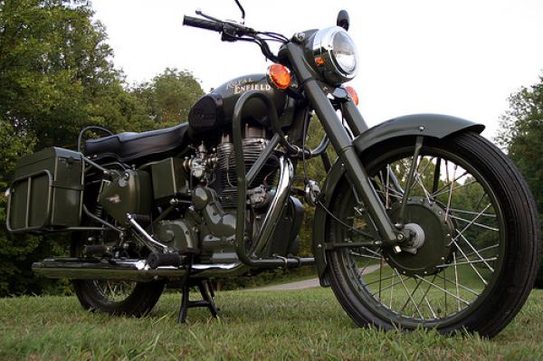 2006 Enfield Bullet 500 Military
