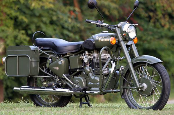 Enfield Bullet 500 Military