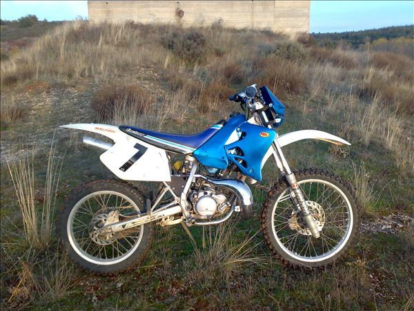 Factory Bike Desert YR125