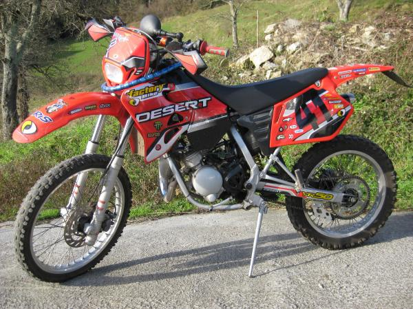 2008 Factory Bike Desert YR50