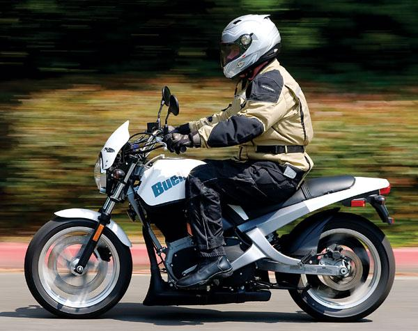Feel Comfortable with Buell Blast