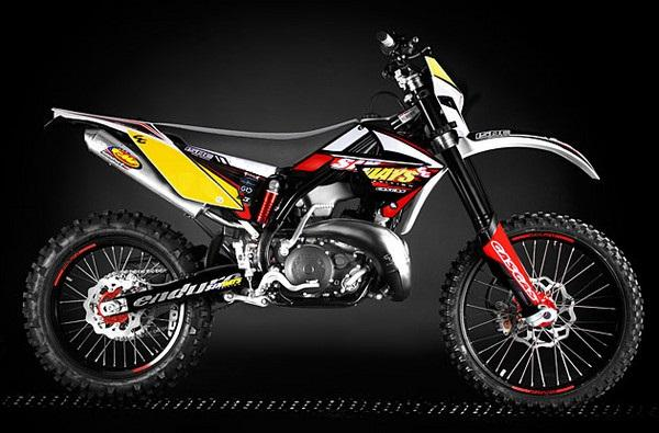 2009 GAS GAS EC 200 Six-Days