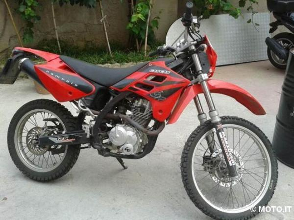 1997 GAS GAS Pampera 125