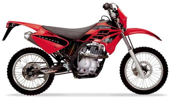 2008 GAS GAS Pampera 125