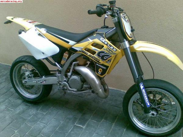 2008 GAS GAS SM 125 Supermotard