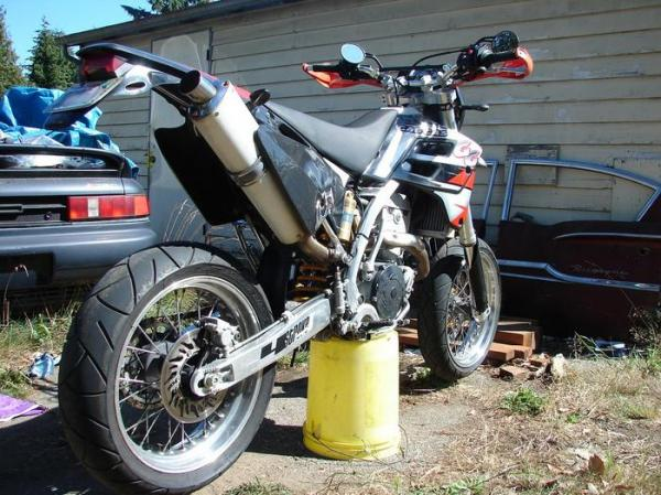 2010 GAS GAS SM 450 Supermotard