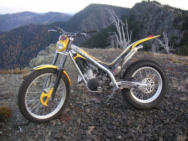 2002 GAS GAS TXT Boy 50 (with power-boost kit)