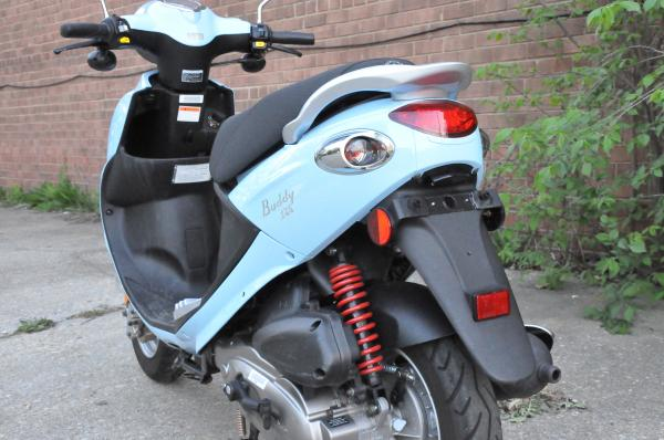 2009 Genuine Scooter Buddy 125
