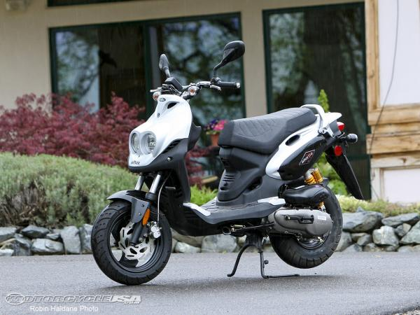2009 Genuine Scooter Rattler 110