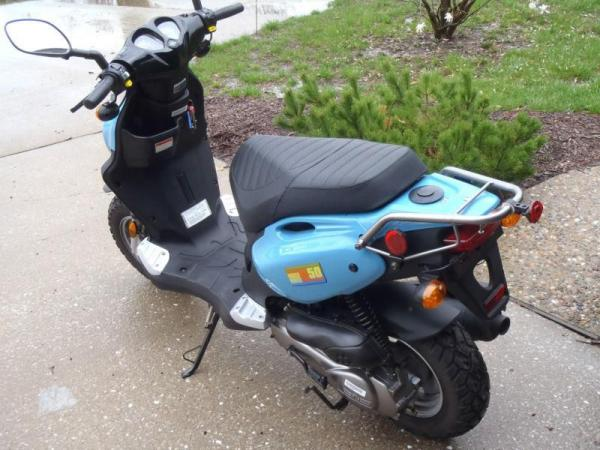 2009 Genuine Scooter Roughhouse R50