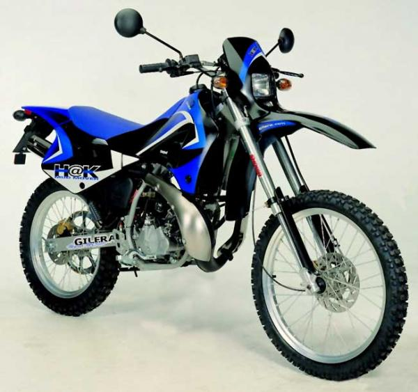 1986 Gilera NGR 250 (reduced effect)