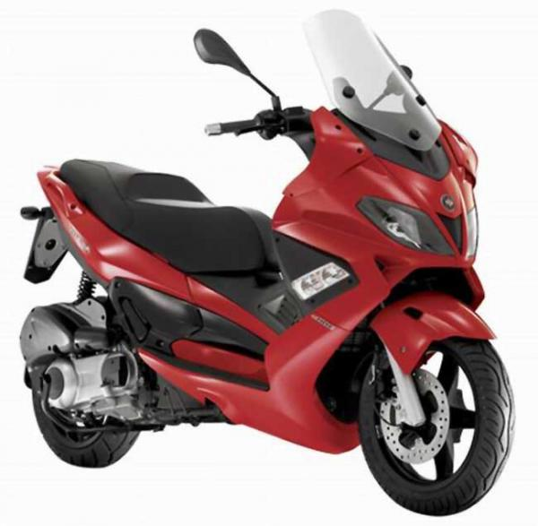 Gilera RC 600 C (reduced effect)
