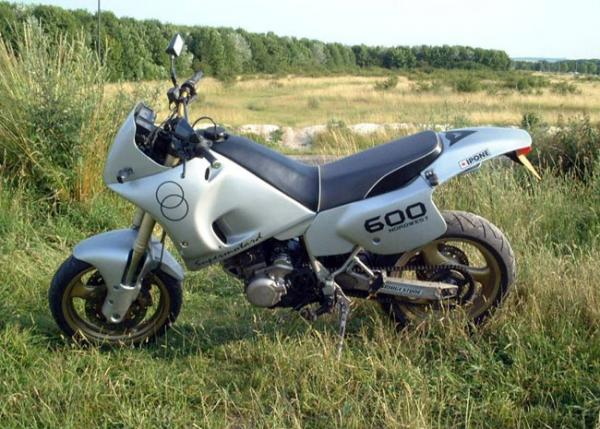 1992 Gilera RC 600 C (reduced effect)