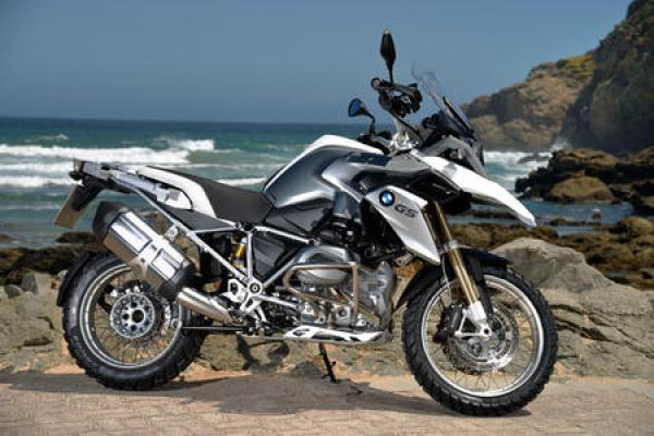 Going Adventurous With the New BMW R1200GS