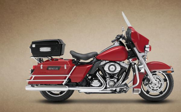 Harley-Davidson FLHP Road King Fire Rescue