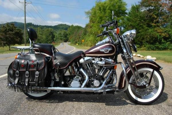 Harley-Davidson FLST 1340 Heritage Softail (reduced effect)